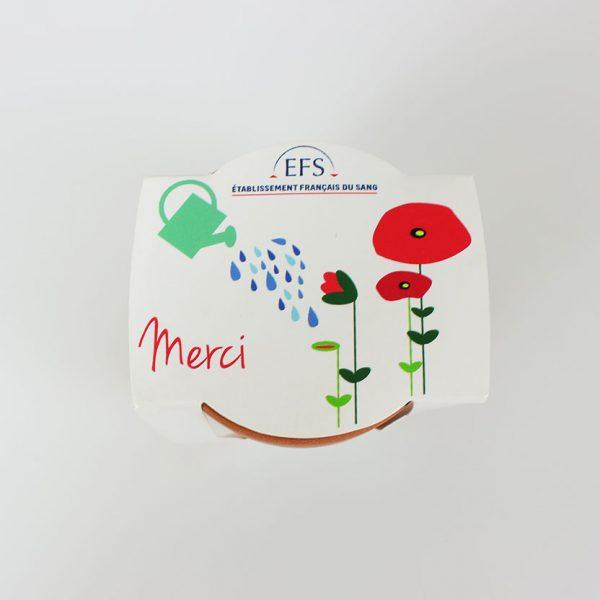 Pot plantation Fabrication France/Europe