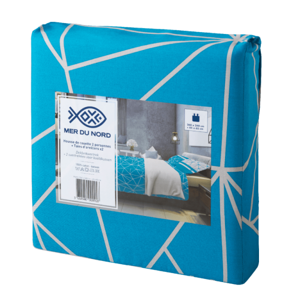 Packaging tissu Mer du Nord