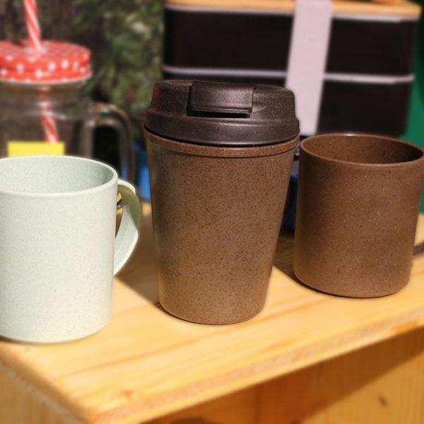 Mug et tasse en écorce de café
