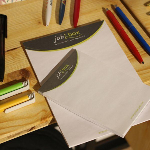 Bloc note Job & box
